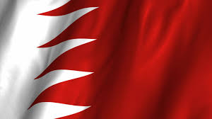 China Flag Waving Flag Of Bahrain The Symbol Of Strength