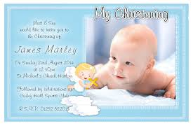 popular sample of invitation card for christening 91 with
