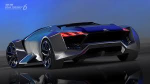 peugeot sports car 2015 peugeot vision gran turismo revealed gran turismo com