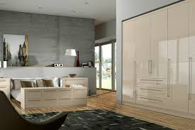 White High Gloss Bedroom Furniture by Walnut And Cream Gloss Bedroom Furniture Eo Furniture