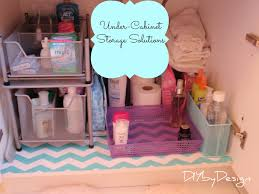 diy by design under sink storage solutions