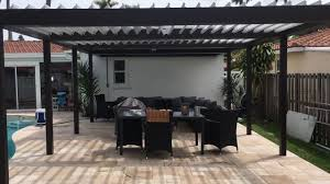 Louvered Patio Roof By Happy House Improvement Bronze Equinox Remote Louvered Roof