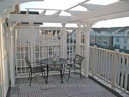 Deck Plans With Pergola by Pergolas