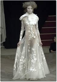 Alexander Mcqueen Wedding Dresses Lace Applique Wedding Gowns