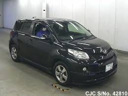 2010 toyota ist black for sale stock no 42810 japanese used