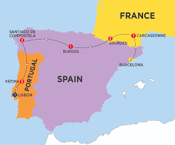 Burgos Spain Map by Tailored Holidays U0026 Tours Trafalgar Eu