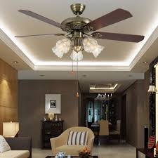 Inch Ceiling Fan Lamp European Antique Fan Chinese Fan Dining - Ceiling fan dining room