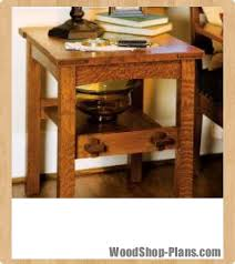 Woodworking Plans For Small Tables by Mission Side Table Woodworking Plans Woodshop Plans