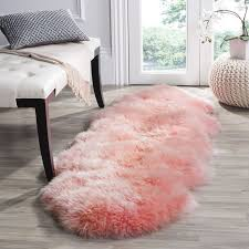 Pink Runner Rug Stunning Fur Runner Rug Shag Carpet Runner Shaggy Faux Fur Shag