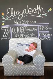 Pottery Barn Kids Everyday Chair Chalkboard Birth Announcement Pottery Barn Kids Anywhere Chair