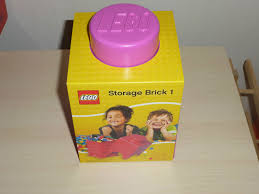 Retro Home Decor Uk Lego Storage Brick Pink Picclick Uk Of Idolza