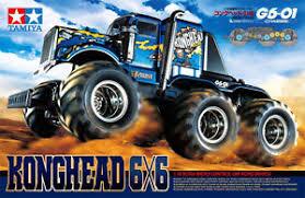 tamiya konghead 6x6 1 18 g6 01 rc monster truck kit 58646 ebay
