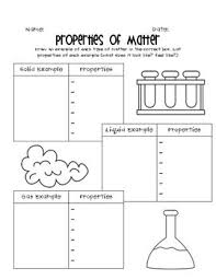 best solutions of states of matter worksheets for 2nd grade in