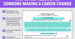 Career Switch Resume Sample by Career Change Resume Samples Sample Resumes