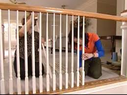 Banister Rail And Spindles How To Paint And Install Balusters How Tos Diy