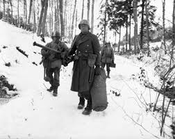 Famous Picture Of Soldiers Putting Up Flag Battle Of The Bulge The U S Army