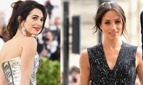 It Is Cool To Be - is meghan markle friends with amal clooney the 2018 royal wedding
