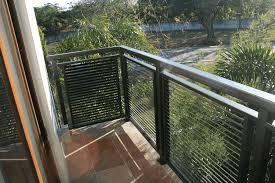 modern fence railing glass railings philippines glass railing