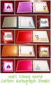 personalized autograph books disney autograph book disney descendants scrapbook