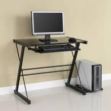 Glass Office Desk Buy Glass Office Desk From Bed Bath Beyond
