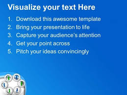 make your own gear for success powerpoint templates ppt