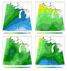 The United States Midwest Region Map by Mw Seasonal Precip Png