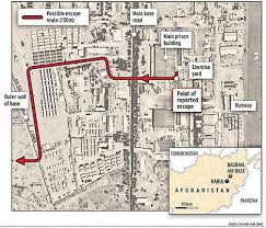 bagram air base map al qaeda s easy escape smh com au