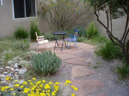 gravel u0026 stepping stones southwest style if your ground drains