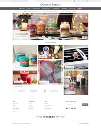 web bureau candles direct web design ecommerce web bureau
