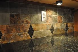 slate backsplash tiles for kitchen granite countertops and tile backsplash ideas eclectic