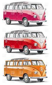 volkswagen bus clipart hippy bus vector clipart image 6222 u2013 rfclipart
