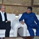 Microsoft CEO Nadella Meets it Minister, Urged to Help Boost DigiGaon Initiative
