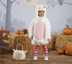 Halloween Sheep Costume Puffy Lamb Halloween Costume 4 6 Pottery Barn Kids
