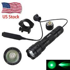 green light for hog hunting tactical green light hog hunting led flashlight w pressure switch