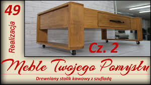 Wooden Coffee Table With Drawers Wooden Coffee Table With Drawer Youtube