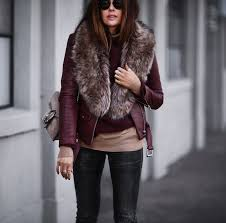 leather faux fashioned chic