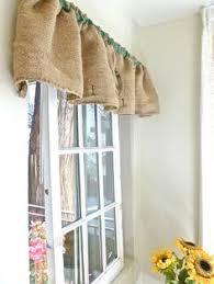 Feed Sack Curtains Burlap Sack Curtains Crafty Diy Wonderfulness Pinterest