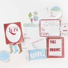 free printable christmas gift labels from better homes u0026 gardens