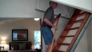 bessler attic stairs pull down videodownload
