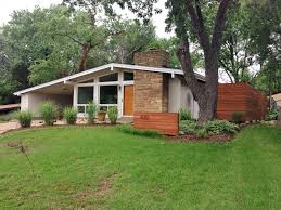 painting mid century modern home exterior paint colors fence