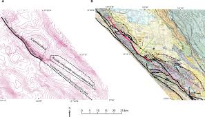 Cupertino Map Structural Superposition In Fault Systems Bounding Santa Clara