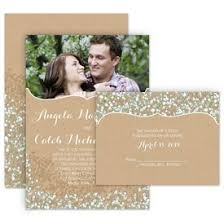 wedding invitations with pictures all in one wedding invitations s bridal bargains