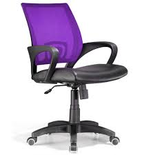 ergonomic computer desk chair black and purple back computer desk chairs with simple arm rest for
