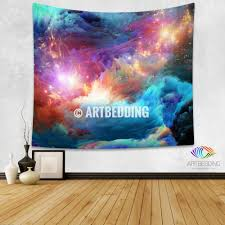 galaxy tapestry cosmos series nebula with stars wall tapestry