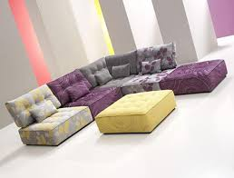 Cozy Modular Sofa Design In Living Room By Fama Interior - Living sofa design