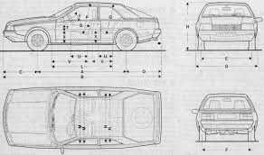 renault fuego black renault fuego 1980 smcars net car blueprints forum