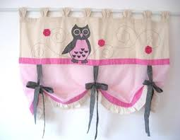 Owl Curtains For Nursery Owl Valance Medium Size Of Bedroom Owl Valance Curtains White