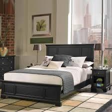home styles bedford queen wood panel bed 2 piece bedroom set in