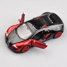 model car toy 1 32 1 32 bugatti veyron model car toys kids gift red diecast minicar w
