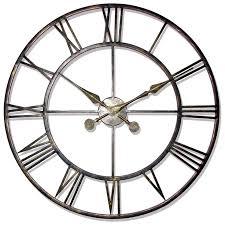 large wall clock product inspiration oversized clocks confettistyle